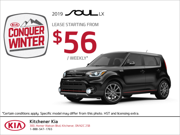 Lease the 2019 Kia Soul