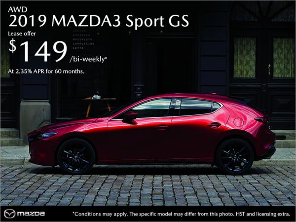Half-Way Motors Mazda - Get the 2019 Mazda3 Sport Today!