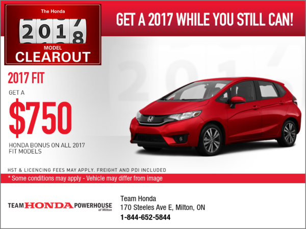 Save on the 2017 Fit Today!