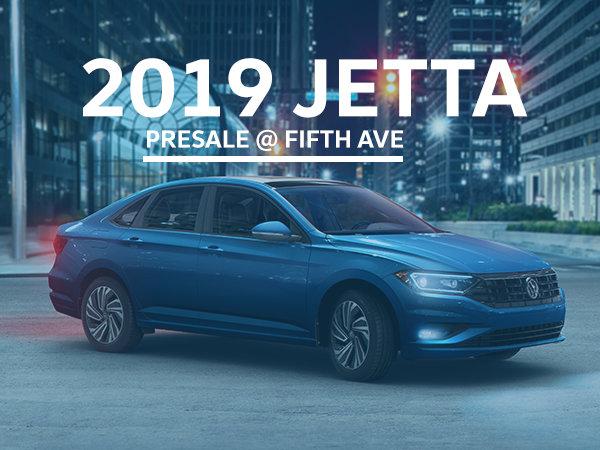 2019 Jetta Presale