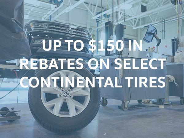 Continental Tire Rebates