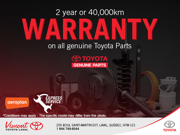 Our 2 Year Warranty