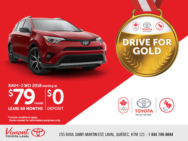 The Drive For Gold Event - RAV 4