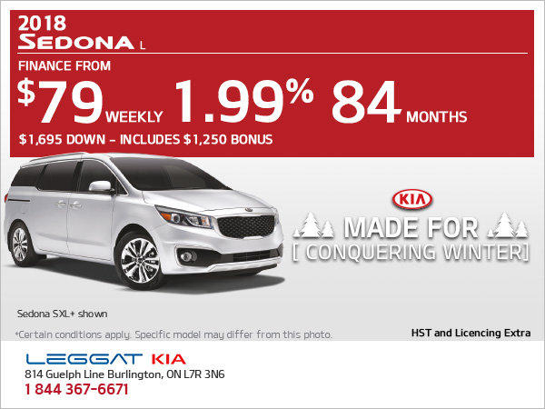Get the New 2018 Sedona Today