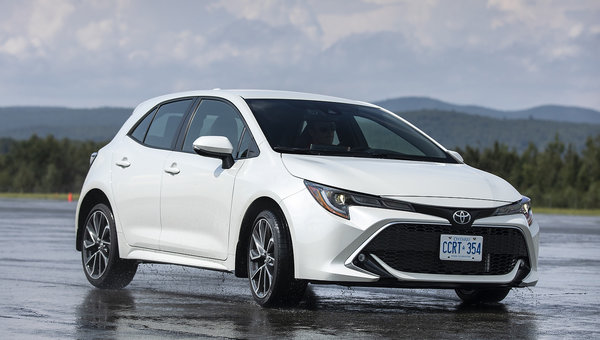Venez découvrir la toute nouvelle Toyota Corolla Hatchback 2019