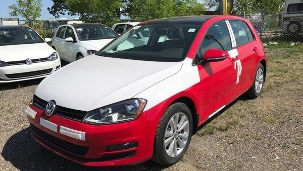2017 Volkswagen Golf Comfortline  - Leather Seats -  Bluetooth - $184.92 B/W