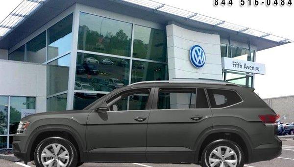 2018 Volkswagen Atlas Comfortline 3.6 FSI  - Bluetooth -  Remote Start - $282.14 B/W