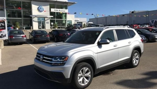 2018 Volkswagen Atlas Trendline 3.6 FSI  - $273.92 B/W
