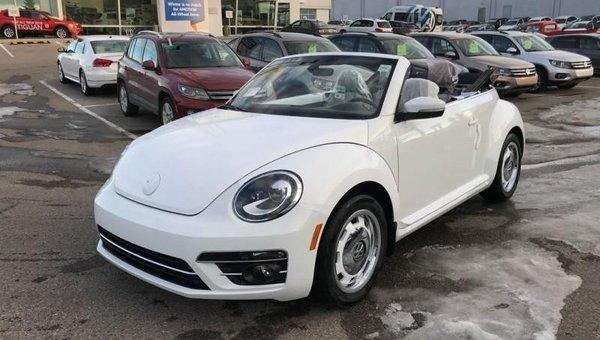 2018 Volkswagen Beetle Coast  - Style Package - $209.60 B/W