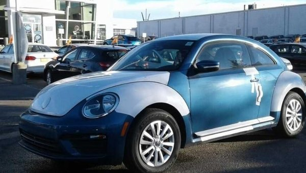 2018 Volkswagen Beetle Trendline  - $162.63 B/W