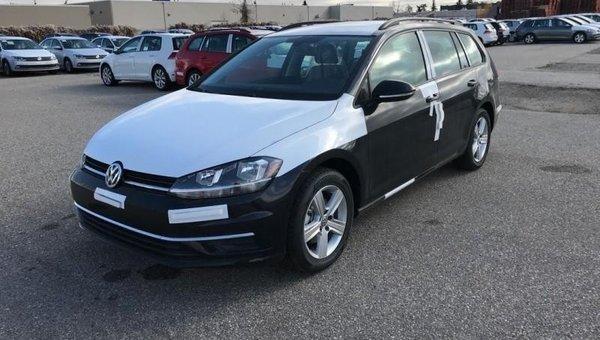 2018 Volkswagen GOLF SPORTWAGEN Trendline DSG 4MOTION  - $181.80 B/W