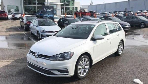 2018 Volkswagen GOLF SPORTWAGEN Comfortline Manual 4MOTION  - $201.54 B/W