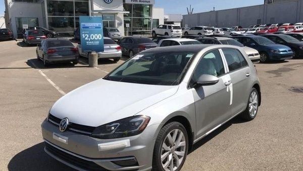 2018 Volkswagen Golf Highline  - $222.11 B/W