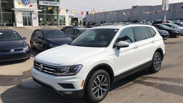 2018 Volkswagen Tiguan Comfortline 4MOTION  - $236.83 B/W