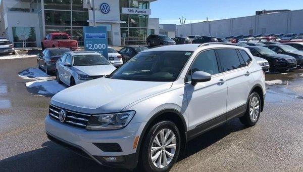 2018 Volkswagen Tiguan Trendline  - $227.79 B/W