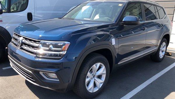 2018 Volkswagen Atlas Highline V6 4Motion