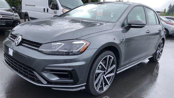 2018 Volkswagen Golf R 2.0TSI 292HP 6SP MANUAL 4MOTION