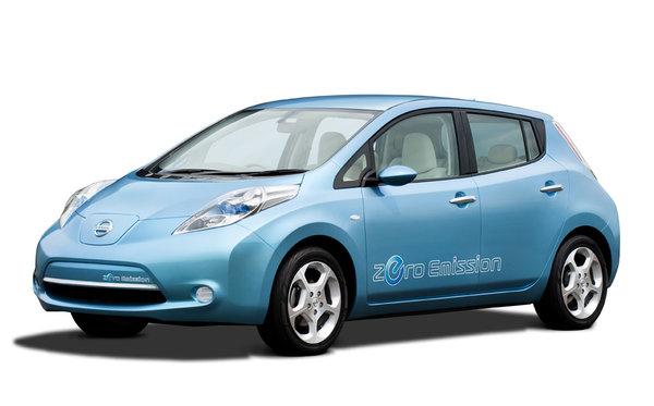Un libre-service pour la Nissan Leaf 100% électrique
