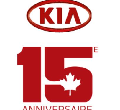 Kia fête ses 15 ans au Canada, mais les cadeaux sont pour vous!