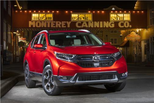 Le Honda CR-V 2018 est le VUS de l'année selon Motor Trend