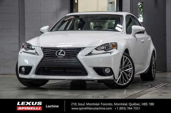 2014 Lexus IS 250 LUXE AWD **RESERVE / ON-HOLD**