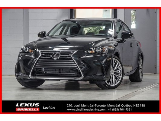 2018 Lexus IS 300 LUXE AWD; CUIR TOIT GPS LSS+