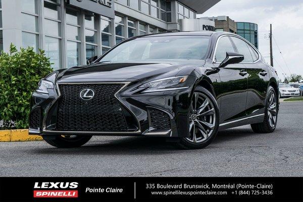 2018 Lexus LS 500 416 HP