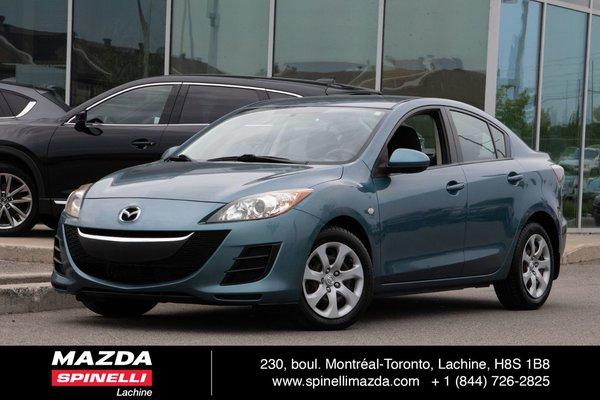 2010 Mazda Mazda3 GX 6 VITESSE A/C