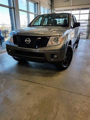 2018 Nissan Frontier 4RM SV MIDNIGHT