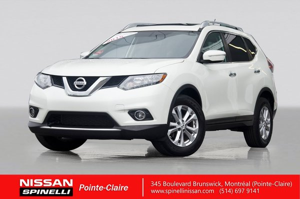 used 2015 nissan rogue sv awd for sale in montreal | p7601a