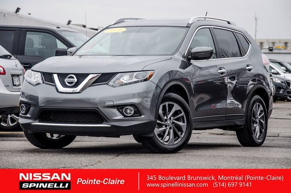 edf92aeb00449a Used 2016 Nissan Rogue SL AWD for sale in Montreal | P7292 ...