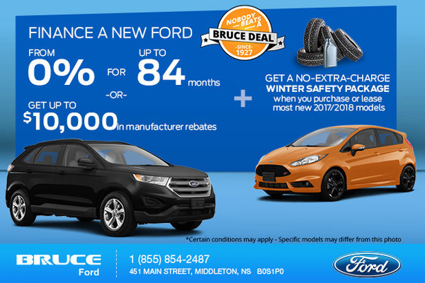 Bruce Ford's Monthly Sales Event!