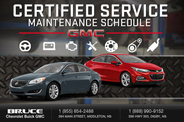GM Cars - Warranty Maintenance Packages