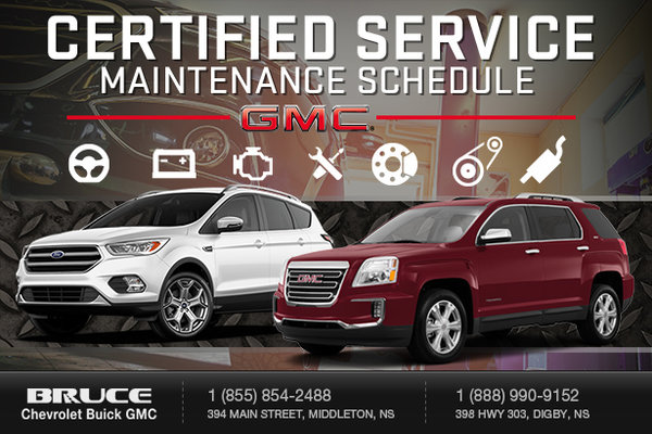 GM SUV - Warranty Maintenance Packages