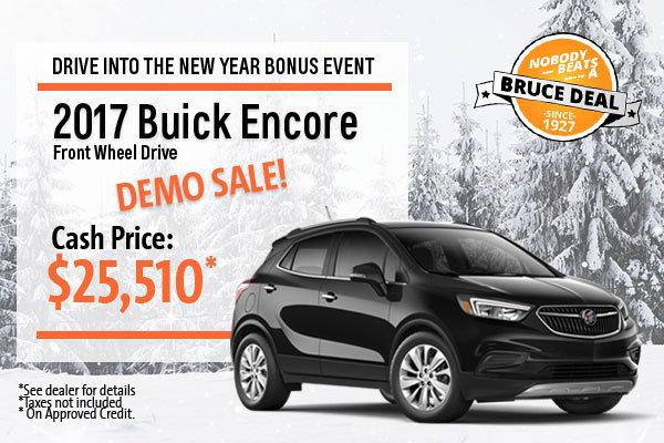 2017 Buick Encore - DEMO SALE!
