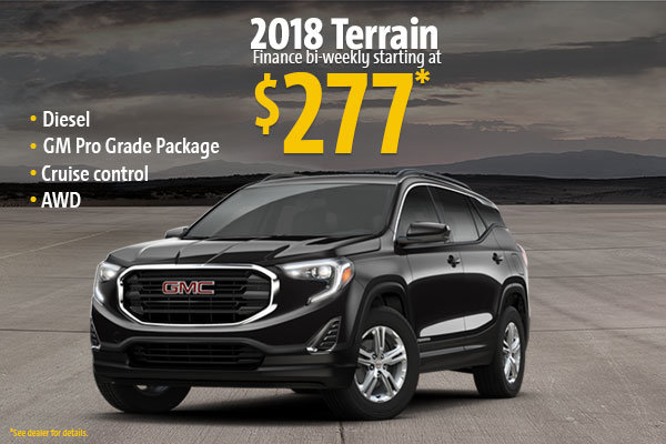 2018 Terrain
