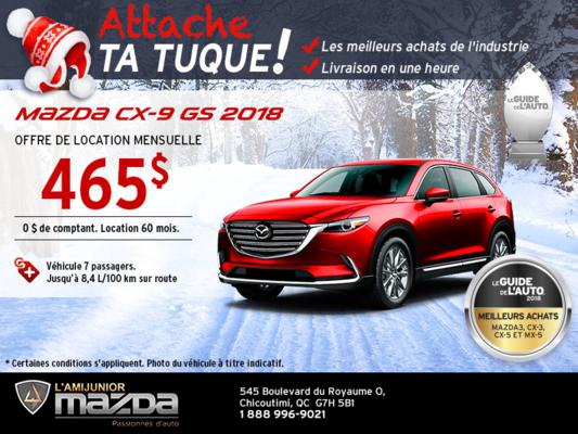 Mazda CX-9 2018 en location!