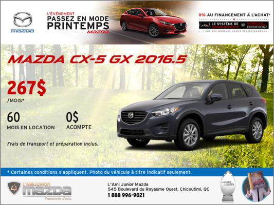 Mazda CX-5 GX 2016.5 en location