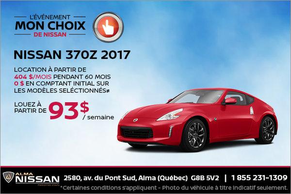 Nissan 370Z 2017 en location