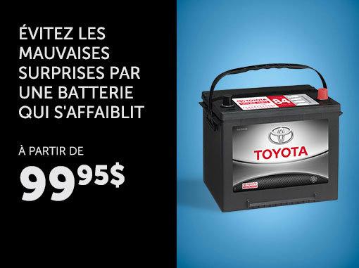 Batterie de remplacement - Pièces d'origine Toyota