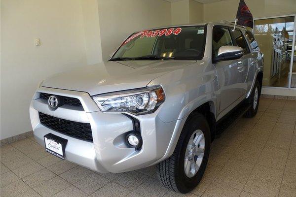 2016 Toyota 4Runner 4X4 UPGRADE PKG