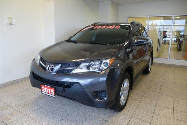 2015 Toyota RAV4 UPGRADE PKG - HEATED SEATS + BACK UP CAMERA
