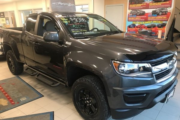 2017 Chevrolet Colorado WT  -  Towing Package - $218.12 B/W