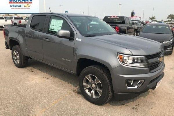 2018 Chevrolet Colorado Z71  - $234.69 B/W