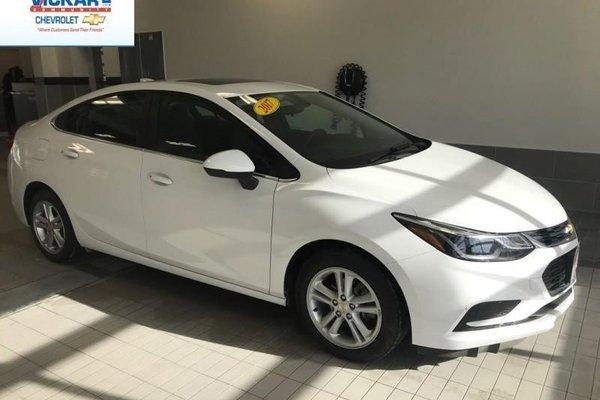 2017 Chevrolet Cruze LT  - Sunroof - $124.23 B/W