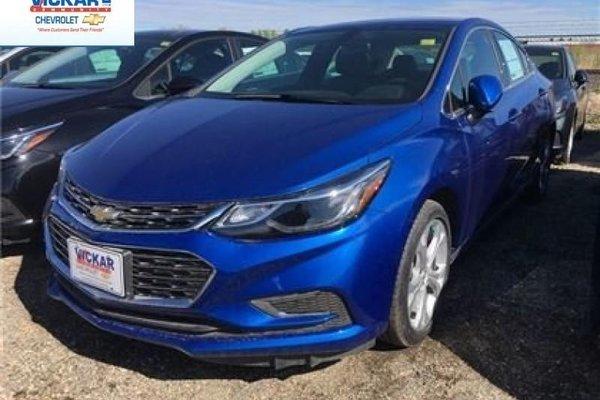 2017 Chevrolet Cruze Premier  - Leather Seats - $151.84 B/W