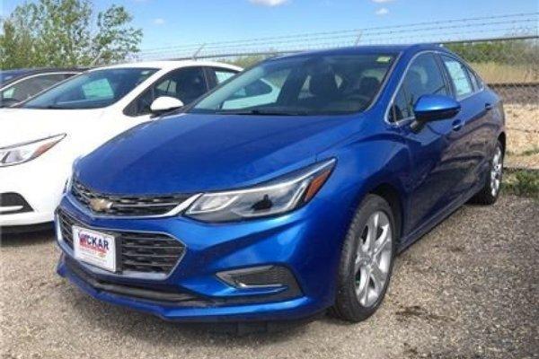 2017 Chevrolet Cruze Premier  - Leather Seats - $189.02 B/W