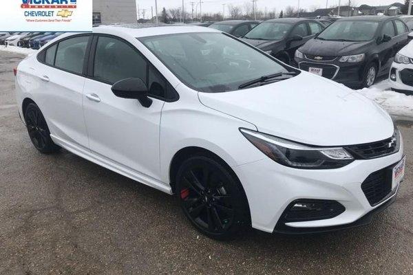 2018 Chevrolet Cruze LT  - Bluetooth -  Heated Seats - $163.66 B/W