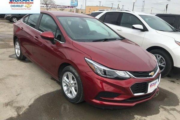 2018 Chevrolet Cruze LT  - $157.52 B/W