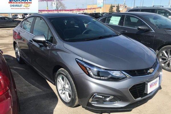 2018 Chevrolet Cruze LT  - $175.57 B/W